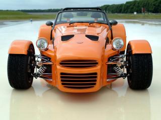 обои Donkervoort D8 270 RS оранжевый фото