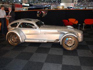 обои Donkervoort D8 GT серебристый сбоку фото