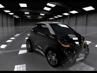 обои 2010 DOK-ING XD Concept черный фото