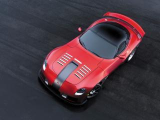 обои 2010 Devon GTX сверху красный фото