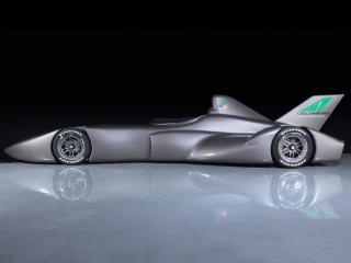 обои 2010 DeltaWing IndyCar Concept сбоку фото