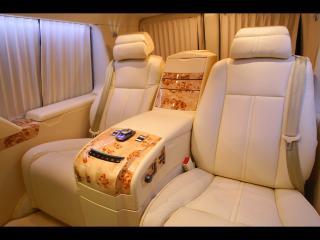 обои 2011 Depp Auto Tuning Chevrolet Express Platinum белые сиденья фото