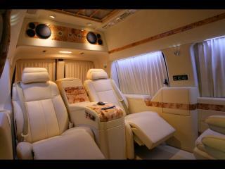 обои 2011 Depp Auto Tuning Chevrolet Express Platinum кожанные сиденья фото