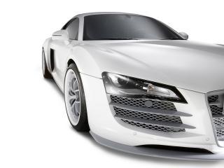 обои 2011 Eisenmann Audi R8 Spark Eight белый фото