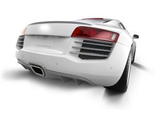 обои 2011 Eisenmann Audi R8 Spark Eight задок фото