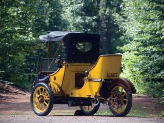 обои Auto Carrier Sociable Runabout 1913 зад фото