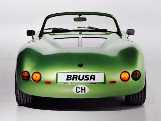обои Brusa Spyder EV зад фото