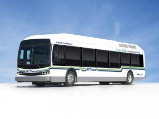 обои Ballard BC Transit Fuel Cell Bus 2009 сбоку фото