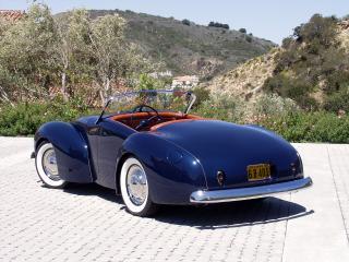 обои Coachcraft Roadster 1940 зад фото