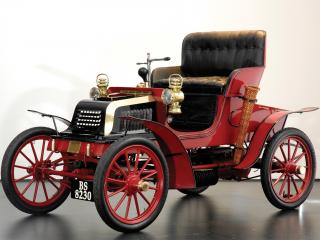 обои для рабочего стола: Crestmobile Model D 2-passenger Runabout перед