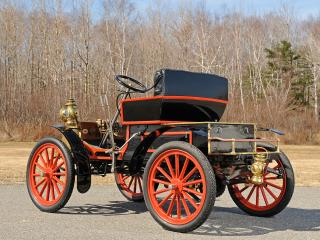 обои Eldredge 8 HP Runabout 1903 бок фото