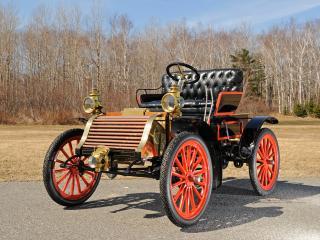 обои Eldredge 8 HP Runabout 1903 перед фото