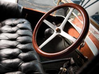 обои Flanders 20 Roadster 1912 руль фото