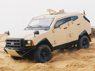 обои Plasan Sand Cat 2005 бок фото