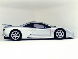обои Quaife R4 GTS 1998 бок фото