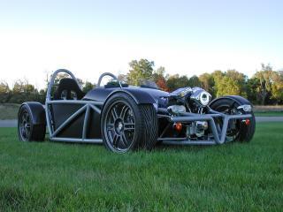обои TwinTech V 2007 спереди фото