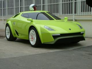 обои Fenomenon Stratos Concept 2007 зеленый фото