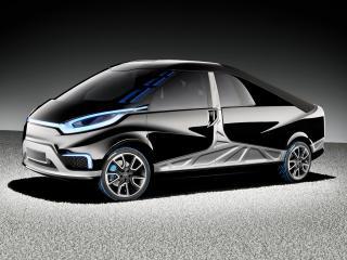 обои MBTech Reporter Plug-In Hybrid Pickup Concept 2010 бок фото