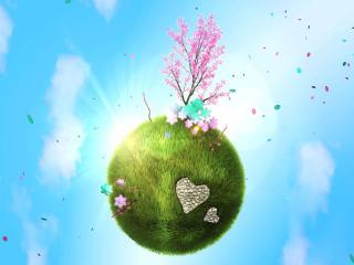 обои Весна на планете фото
