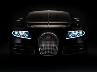 обои Bugatti 16C Galibier Concept 2009 фары фото