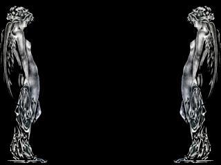 обои Статуи близняшки фото