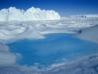 обои Царство снега и льда фото