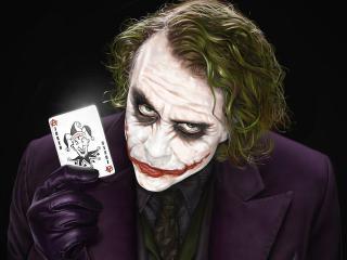 обои Невозмутимый Joker фото