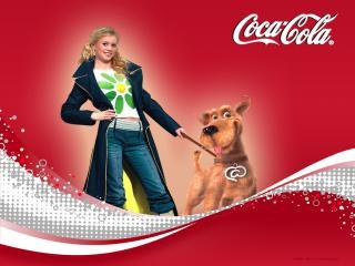 обои Кока-кола фото