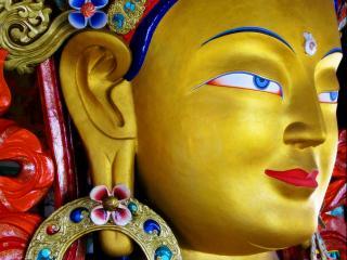 обои Голова статуи Будды фото
