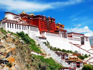 обои Дворец Потала в Лхасе,   Тибет фото