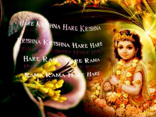 обои Кришна и Махамантра фото