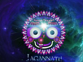 обои Лицо Джаганатхи из индийской мифологии фото
