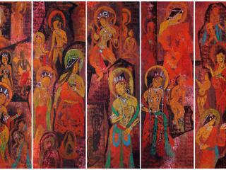 обои Изображение буддийских святых фото