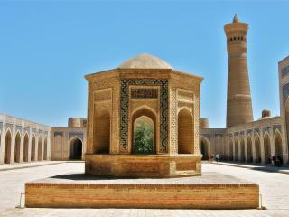обои Внутри исламской мечети фото