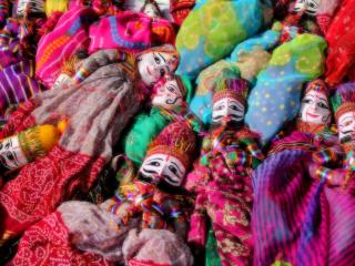 обои Куклы индийского театра марионеток фото