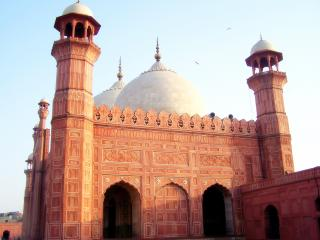 обои Мечеть с двумя арками фото
