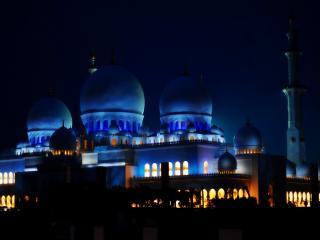 обои Мечеть ночью фото