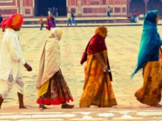 обои Индусы на улице фото