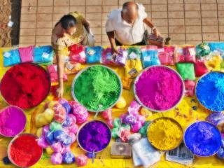 обои Торговцы красок и цветов фото