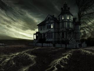 обои Таинственный дом фото