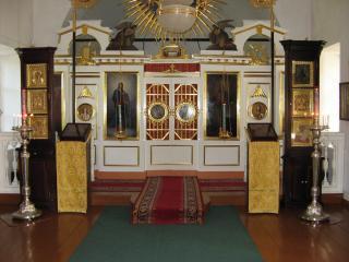 обои Храм в Тарханах фото