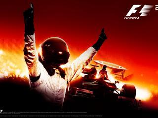 обои Formula1-game гонщик фото
