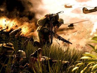 обои ShellShock Nam 67 взрывы фото