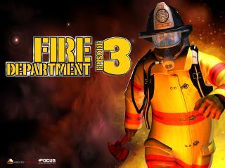 обои Fire Department 3 в огне фото