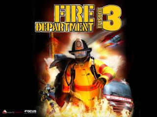 обои Fire Department 3 пожарник фото
