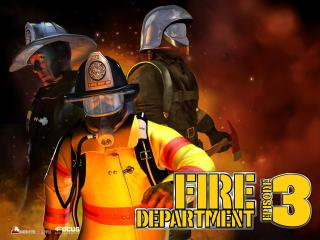 обои Fire Department 3 пожарники фото