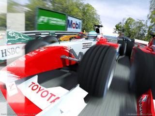 обои F1 2002 сила фото