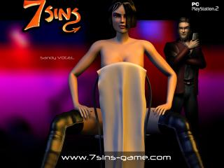 обои 7 SINS в полотенце фото