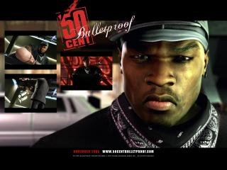 обои 50 Cent Bulletproof грозный фото