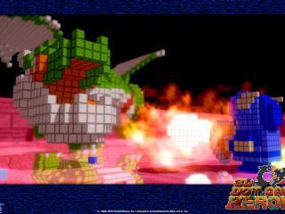 обои 3D Dot Game Heroes кубики фото